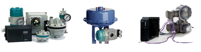 Actuators for water valves: Electric, pneuymatic, hidraulic