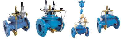 Regulation valves